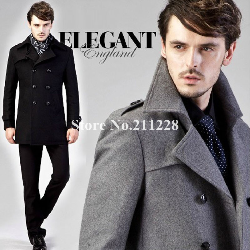 Collection Grey Winter Coat Men Pictures - Reikian
