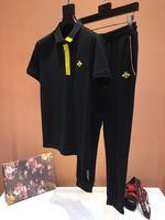 AH03619 Модные мужские комплекты 2019 взлетно посадочной полосы Роскошные известный бренд Европейский дизайн вечерние стиль мужская одежда