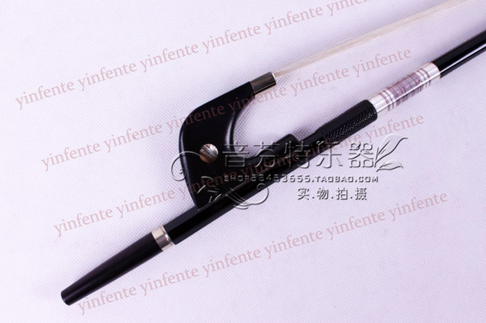 Quality double bass bow bass bow carbon fiber winding wire ebony 1 pc high quality double bass bow 3 4 baroque bass bow snake wood