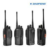 bf 888s שני 100% טוקי BF-888s כף יד מקורי Baofeng UHF 888s 5W 16CH Portable Walki talki 400-470mhz שני הדרך רדיו Comunicador (2)
