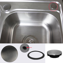 Faucet-Hole-Cover Sink-Plug Drainage-Seal Water-Stopper Use-Accessories Anti-Leakage-Basin