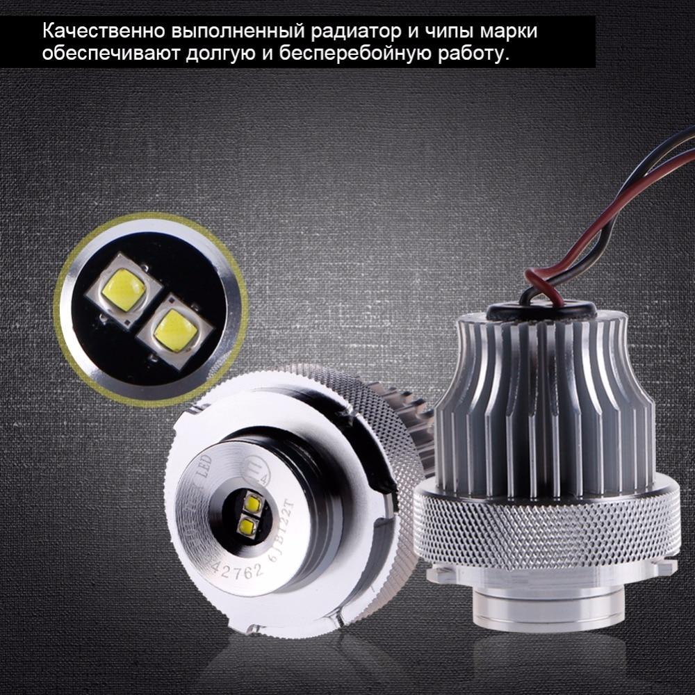 BMW E60 E61 Ultra Bright 10W 6000k avtomobil dizaynlı LED marker - Avtomobil işıqları - Fotoqrafiya 4