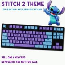 104/87 клавиша PBT двойная цветная подсветка механическая клавиатура Большой F универсальная Колонка для Ikbc Cherry MX механическая клавиатура