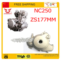 ZONGSHEN NC250 250CC 4 valve engine magneto coil cover left xmotos kayo bse dirt pit bike accessories free shipping