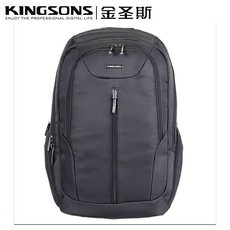 Kingsons New waterproof Shockproof Laptop bag for 15.6 notebook computer Business Casual  bag  Student Backpack free shipping kingsons waterproof bag computer bag student bag bag and backpack korean 15 inch