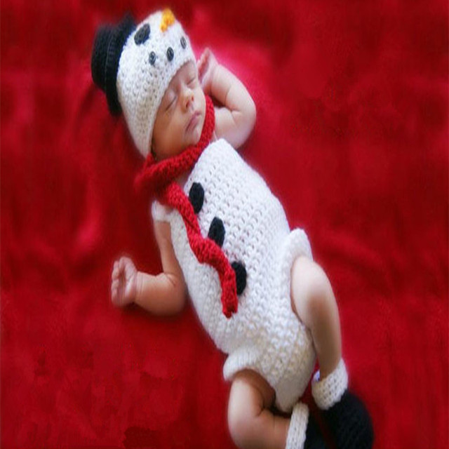 Weiß Snow Maiden Kostüm Baby Weihnachten Kleidung Sets Baby