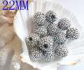 2014 20 mm fita charme cor resina Rhinestone contas Bubblegum pedaços soltos Gumball Beads 50 pcs