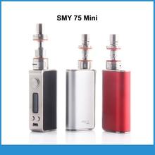 Original SMY SMY 75 W Mini Kit Vape 75 mini Caja Mod con Estrella Tanque Atomizador Vape Vaporizador Narguile Electrónica cigarrillo electrónico