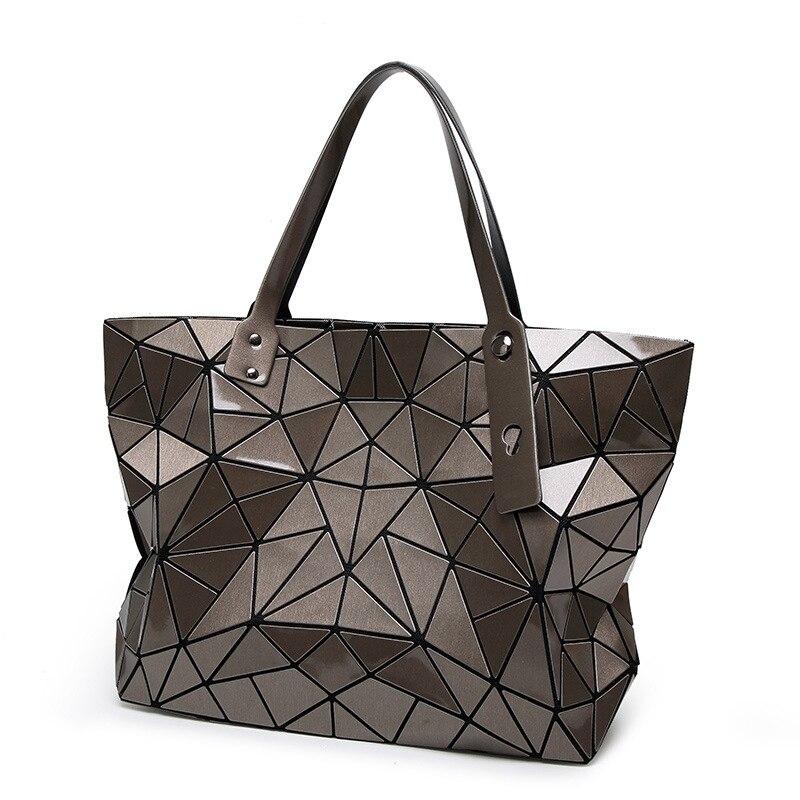 High Quality Ladies baobao Handbags Designer Brands 2017 Female Laser Geometric bao bao Bag Women Tote Big Hand Shoulder Bag