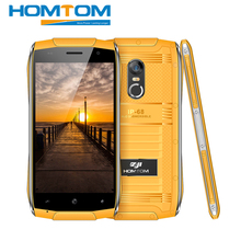 "HOMTOM ZOJI Z6 IP68 Wasserdichte Smartphone MT6580 Quad Core 1,3 GHZ 1G RAM 8G ROM 4,7 ""Android 6.0 WCDMA Handy 3000 mAh 5MP"