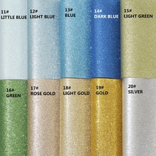 19pcs/set--20X22CM High Quality DIY glitter artificial leather / PU glitter leather /faux leather (can choose color)