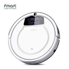 Fmart E-550W (s) робот-пылесос уборки дома приборами 3 в 1 очистители всасывания Sweeper СС светодиодный дисплей аспиратор
