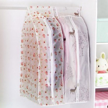 ФОТО Transparent Storage Bags Cover Clothes Protector Garment Suit Coat Dust Cover Protector Dustproof Storage Bag Organization