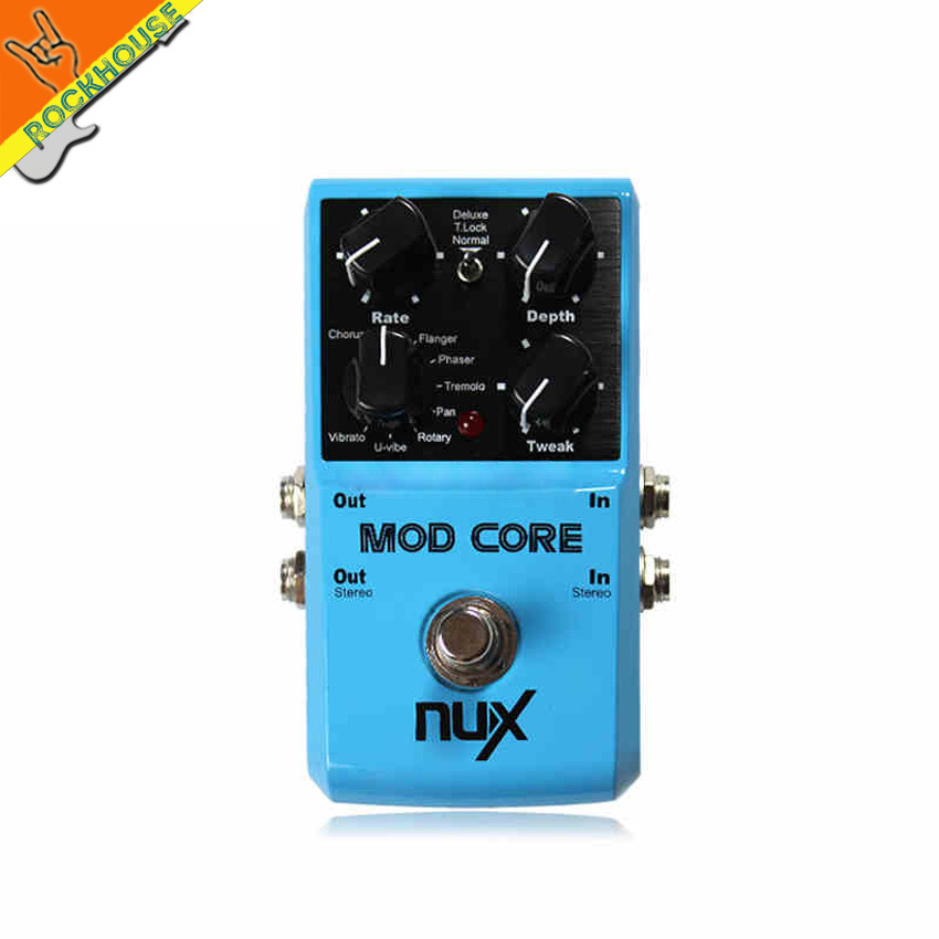 NUX MOD FORCE Multi Modulation Effects Such As Elay Echo Reveberation Chorus Flanger Phase And So