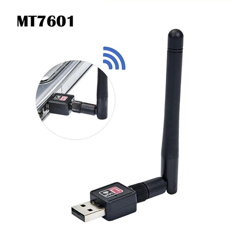 TEROW беспроводная Wi-Fi сетевая карта 150 м USB 2,0 802,11 b/g/n LAN антенна адаптер с антенной для ноутбука ПК Мини Wi-Fi донгл