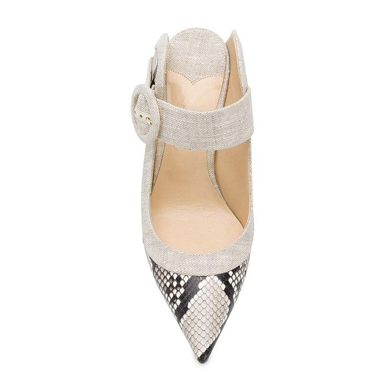 WETKISS Schlange Haut Hausschuhe 2019 Neue Sommer Gleitet Schuhe Spitz Hochzeit Stiletto Heels Slides Schuhe Weiblichen Maultiere Schuhe Dame-in Hausschuhe aus Schuhe bei  Gruppe 3