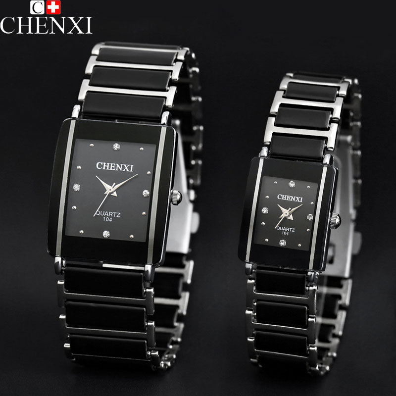 CHENXI 2017 Fashion Lovers Watch For Men Women Watches Ladies Top Brand Luxury Famous Wristwatch Quartz Watch Male Female Clock classic simple star women watch men top famous luxury brand quartz watch leather student watches for loves relogio feminino