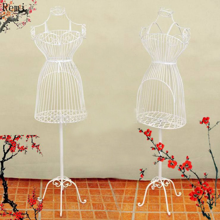 Mannequin For Clothes Female Full Body Iron Model Aircraft Female Display Rack Metal
