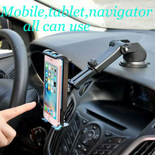 "Universal 5""-11"" Car Headrest Mount Stand Holder For mobile phone stand tablet car holder stand 360 Degree Rotate Tablet stand(China)"