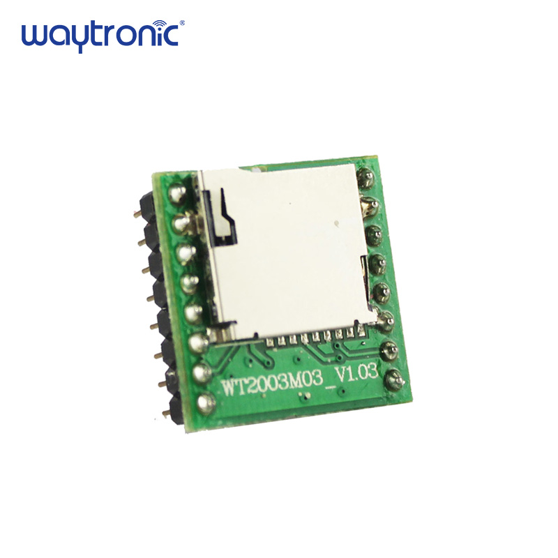 WT2003M03 Audio Changeable MP3 WAV Voice Circuit Module for Toys with Key and UART Control Support 32G SD Card U disk