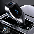 Bluetooth Handsfree FM Transmitter Car Kit MP3 Music Player Radio Adapter Work with TF Card U Disk For iPhone Smartphone