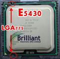 Original Xeon E5430 2.66GHz/12M/1333Mhz/CPU equal to LGA775 Core 2 Quad Q9300 CPU,(works on LGA775 mainboard no need adapter)