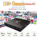 Amlogic CAIXA de Tv Android 6 Meses Europa IPTV Itália X96 S905X 2 GB/16 GB Android 6.0 Tv Set Top Box WiFi HDMI 2.0A 4 K 2 K Árabe IPTV