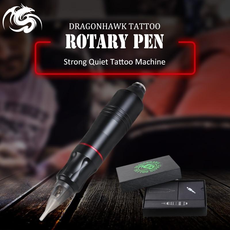Один шт татуировки Ротари ручка Гибридный постоянный Макияж татуировки сильный и тихий Двигатель питания