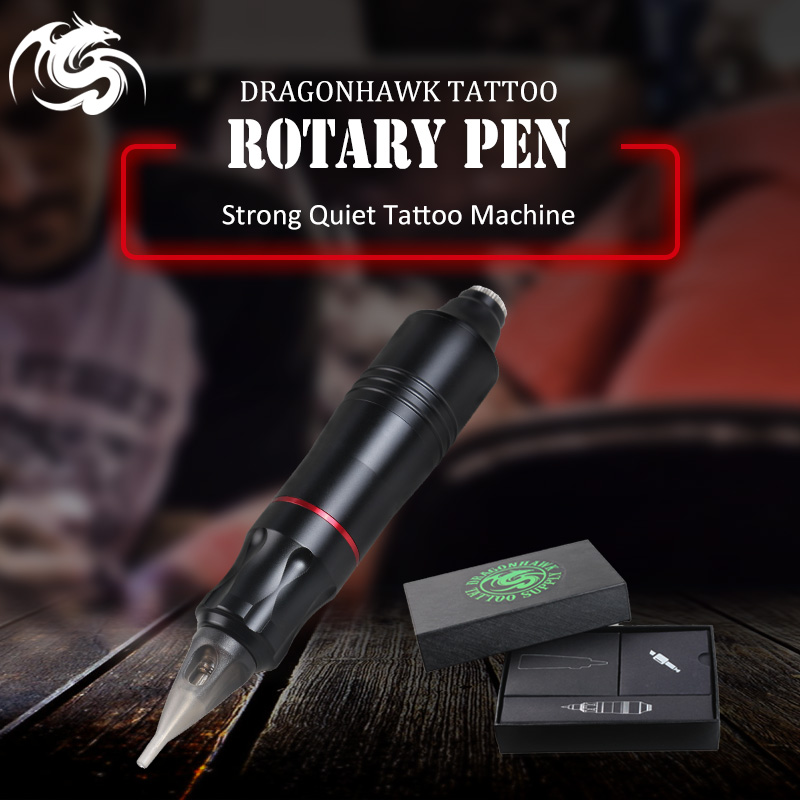 One pcs Tattoo Rotary Pen Hybrid Permanent Makeup Tattoo Machine Strong Quiet Motor Supply стоимость