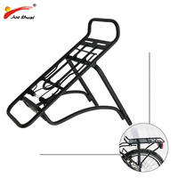 Black/Silver 20 bike rear rack aluminum bicycle luggage carrier bicycle rack Good Quality 20 inch Bike Rear Carrier