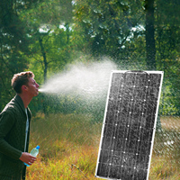 Anaka 100 واط 12 فولت مرنة أحادية السيليكون الألواح الشمسية خلية تهمة الشمسية للمنزل/RV/لوحة في الهواء الطلق الشمسية الصين 200 واط