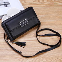 Women Shoulder Purse Wallets Bag Long Clutch Fashion Large Capacity Card Holder