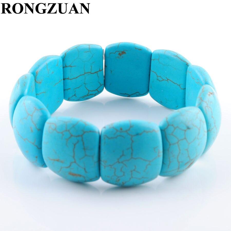RONGZUAN Blue Turquoises...