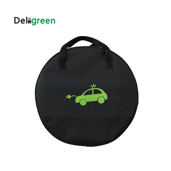 Deligreen EV Bag For Electric Car Electric Vehicle carrying bag for EVSE Portable charging Cable Charging Equipment Container image