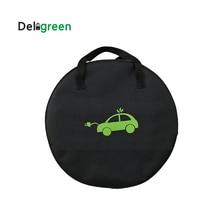 Сумка Deligreen EV для электромобиля, сумка для переноски для электромобиля EVSE, переносной зарядный кабель, зарядное оборудование, контейнер