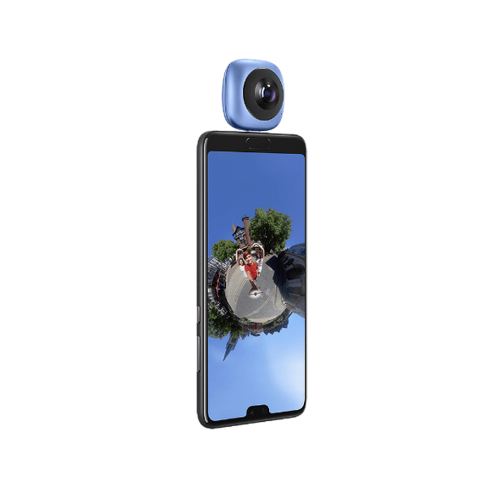 Image 5 - HUAWEI CV60 Cool Edition Panoramic 360 Camera 13MP 5K Photo 2K Full HD Videos Dual Fisheye Phone Camera Lens for Android 6.0-in 360° Video Camera from Consumer Electronics