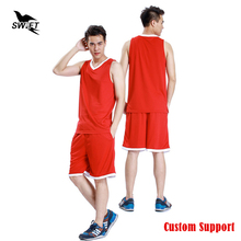 2016 2017 New Breathable Custom Basketball Jersey Men Cheap Throwback Basketball Shirt Basketball Uniform Tracksuit Training