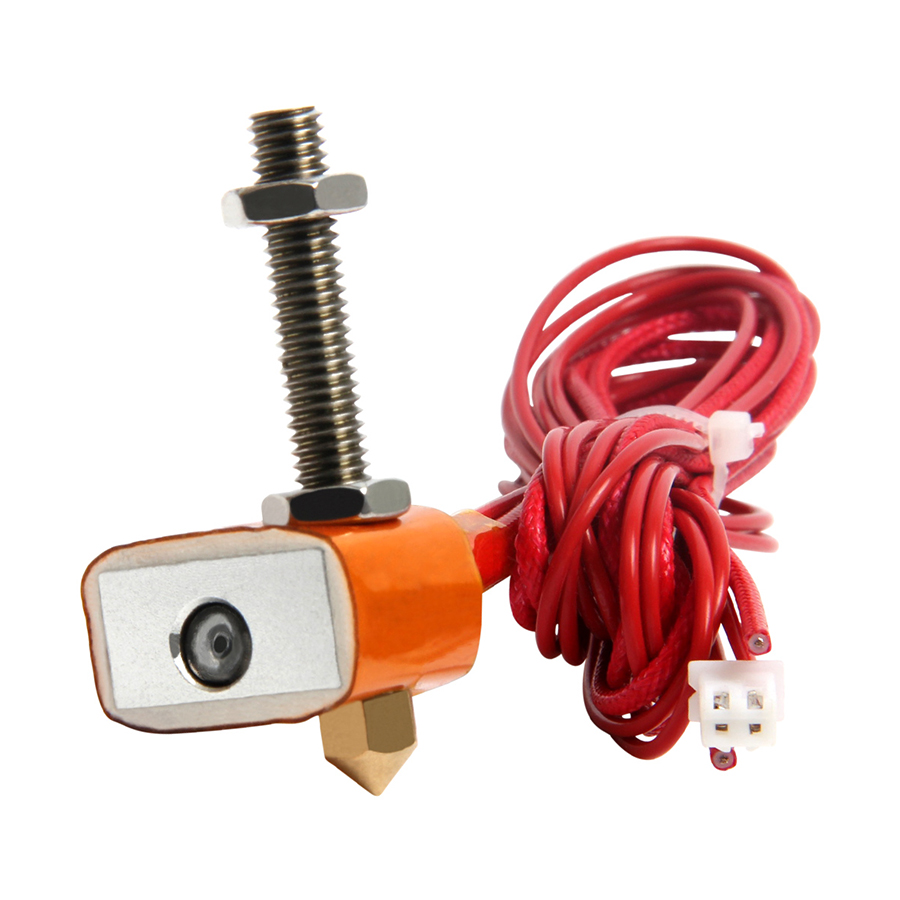 Geeetech MK8 Extruder Hot End Kit Nozzle 0.3/0.35/0.4/0.5mm for 1.75mm/3mm Filament