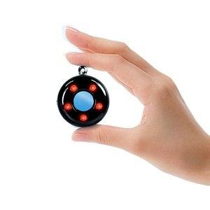 Image 2 - ポータブル旅行 K100 カメラ検出器アンチスパイ検出器隠しカメラファインダー振動盗難防止アラーム