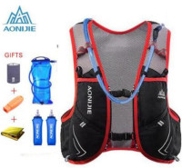 AONIJIE Running Vest Pack 5L Upgraded Sport Bag Marathon Running Cycling Hiking Men Women Camping Hydration Backpack