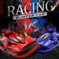 W100 Remote Control Bumper Car 2.4G Multi function Parent child PK VS Children Toys rc robot cars electric toys electronic pets