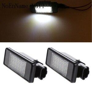 Image 3 - 2pcs 18 LED לוחית רישוי אור מנורת עבור פיג ו 207 307 308 סיטרואן ברלינגו 2004 2009 C3 C4 c5 C6 5D