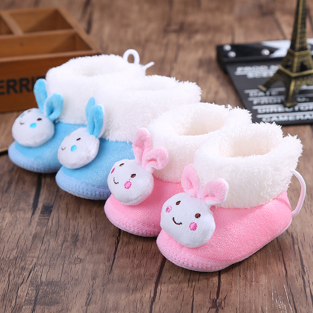 Baby shoes spring and autumn winter 3-6 months baby walking shoes 0-1 year  old male and female baby soft sole newborn cotton 0b8cafe4e991