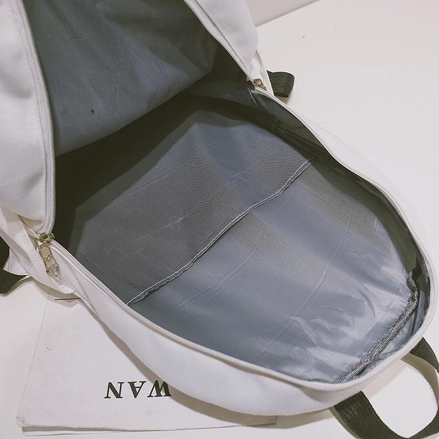 Women Canvas Mochilas De Unicornio Girls Unicorn Printed Travel Bag Schoolbag For Teenagers