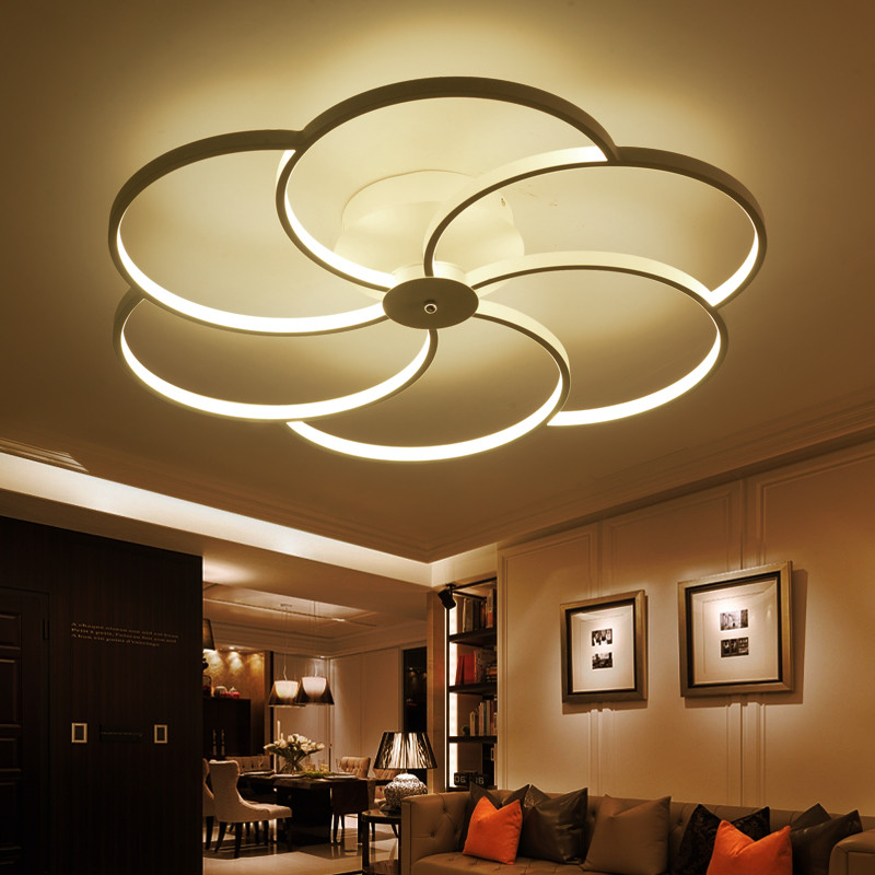 Ceiling Led Lights For Showroom : Aliexpress buy surface mounted modern led