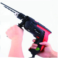 Multifunction Impact Drill 3800rpm Industrial Electric Impact Drill Electric Hammer Woodworking Tool