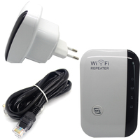 EU Plug Wireless N AP Wifi Repeater 802 11b G N Network Wifi Router Expander Antenna