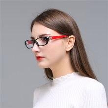 Kujuny homem óculos de leitura glassess + 200 lentes de resina leitura óculos de olho de gato presbiopia leitores óculos mulher hyperopia