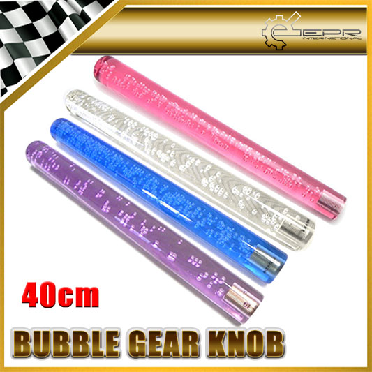 Car styling Extra Large 40cm With Light Bubble Dildo Shift Gear Knob JDM Fitment Universal
