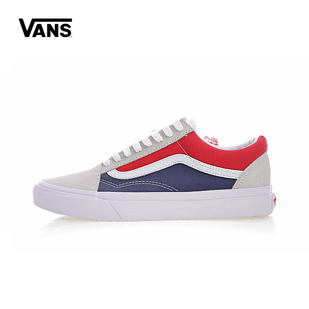 Original Vans Men's & Women's Classic Old Skool Low-top Skateboarding Shoes Sneakers Canvas Outdoor VN0A38G1R1Q/VN0A38G1QKN